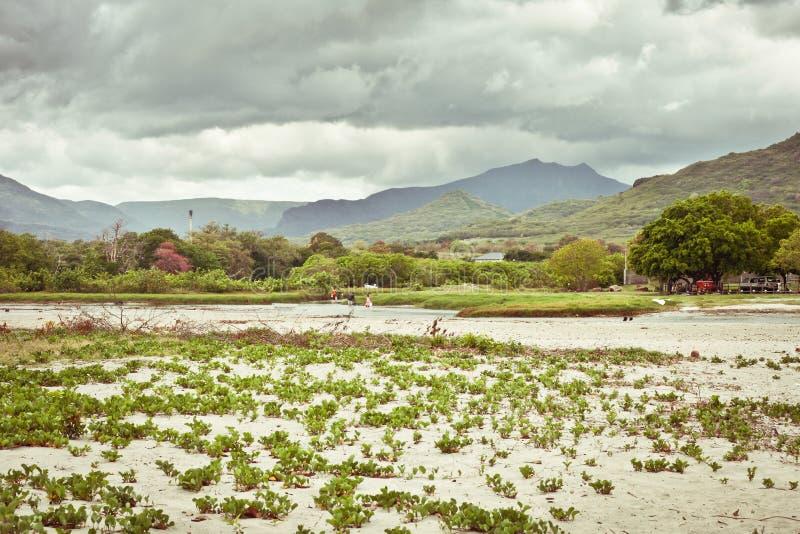 毛里求斯风景 免版税库存照片