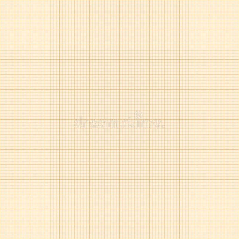 毫米栅格 方形的座标图纸背景 E r 皇族释放例证