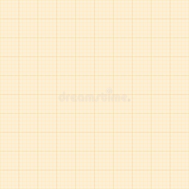毫米栅格 方形的座标图纸背景 E r 库存例证
