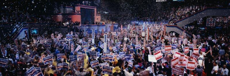 民主党全国代表大会在麦迪逊方形G 库存图片
