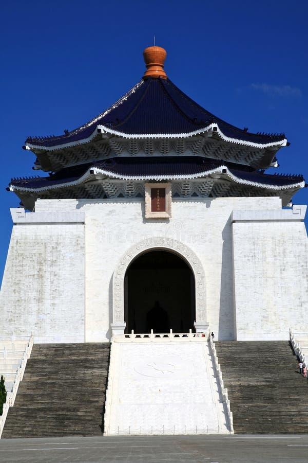 民主大厅纪念国家台北台湾 库存照片