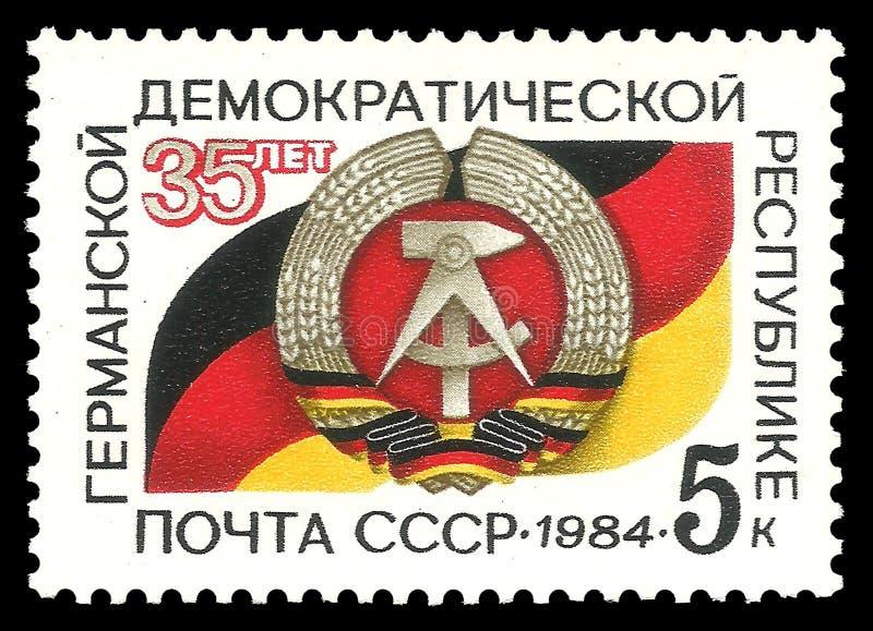 民主德国 库存图片