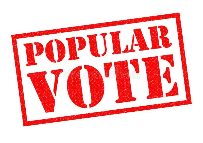 民众投票 库存例证