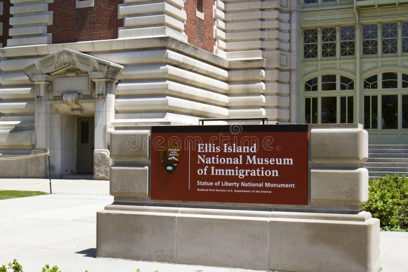 移民埃利斯岛国家博物馆  库存图片