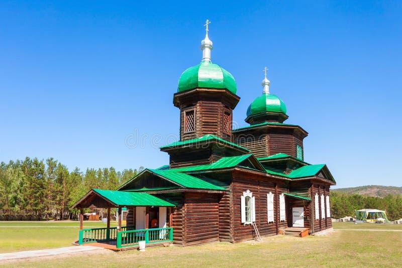 民族志学博物馆在乌兰乌德 库存照片
