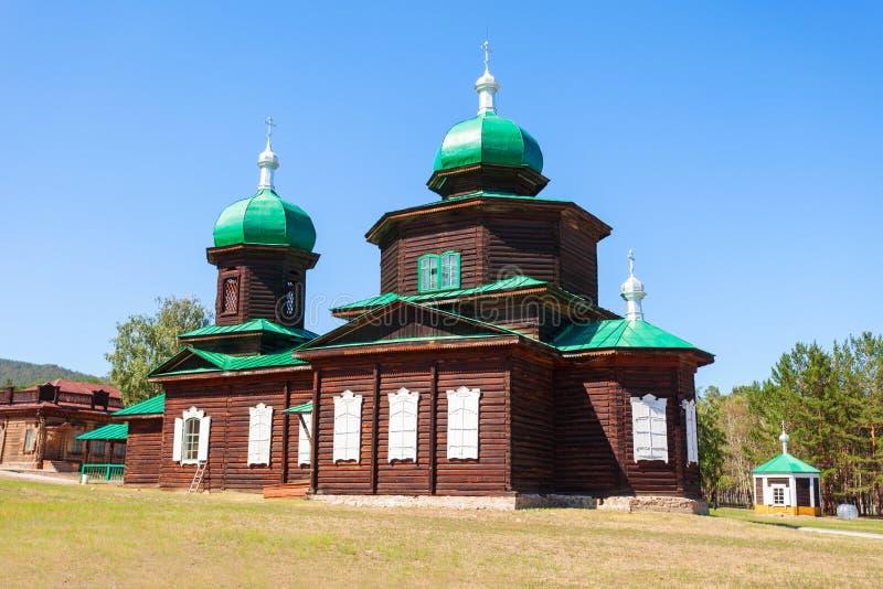 民族志学博物馆在乌兰乌德 免版税库存图片
