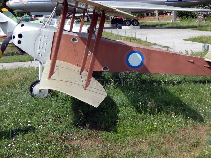 民用和军用飞机 免版税库存照片