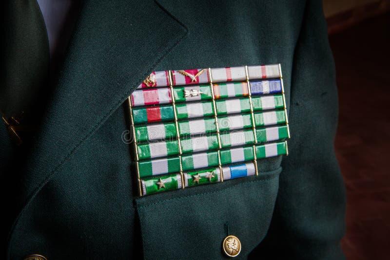 民用的瓜迪亚的官员 图库摄影
