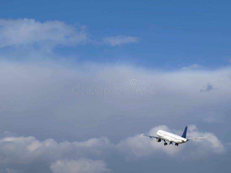 民用的航空器 免版税库存照片