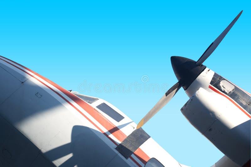 民用的航空 免版税库存图片