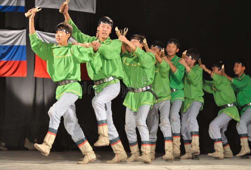 民间传说yakut 免版税图库摄影