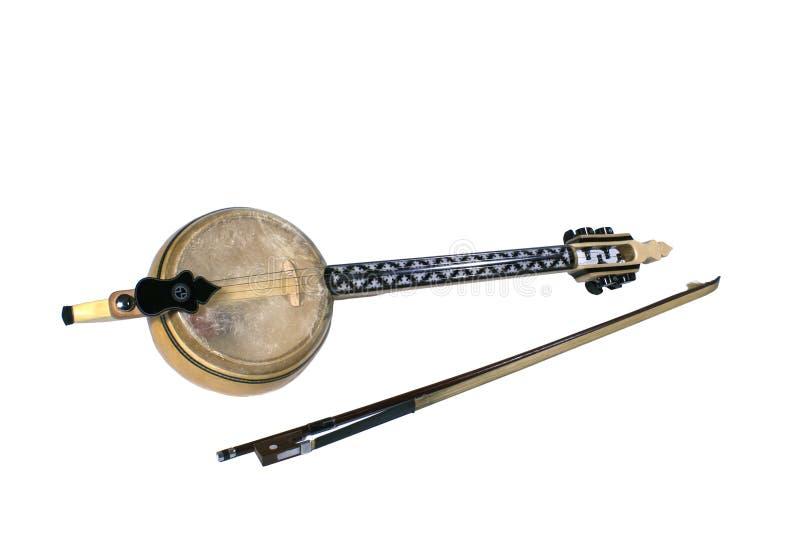 民间音乐仪器, Kabak Kemane 免版税库存图片