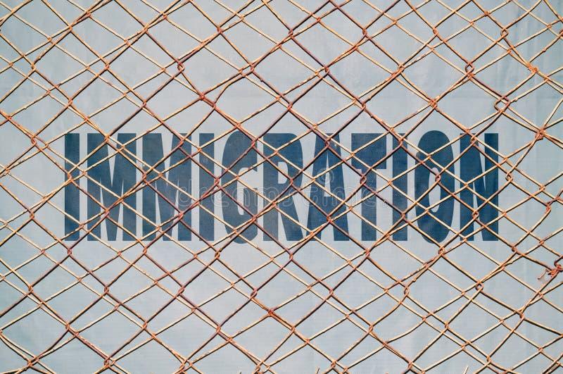 移民 库存例证