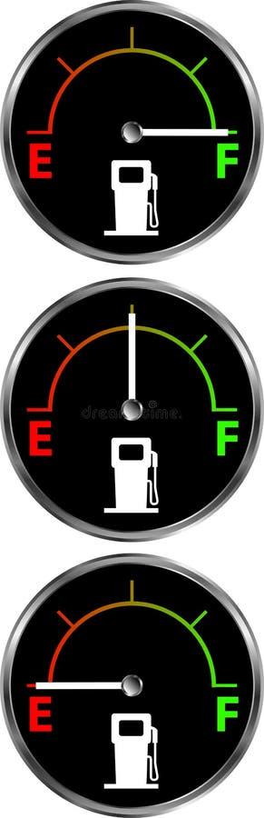 气体测量仪 库存例证