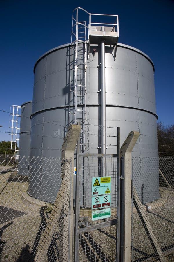 气体液体石油船 免版税图库摄影