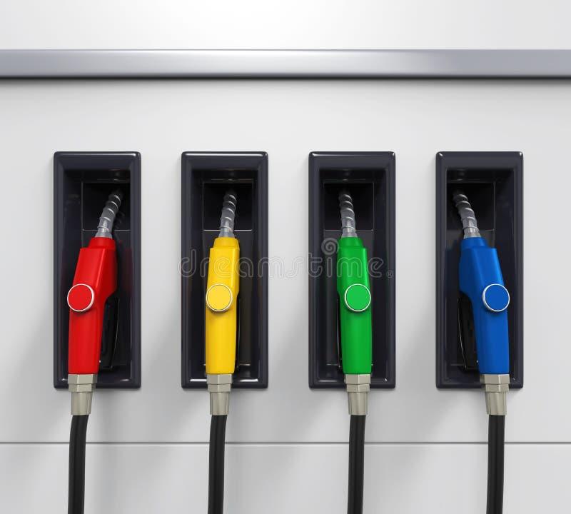 气体燃料泵浦 向量例证