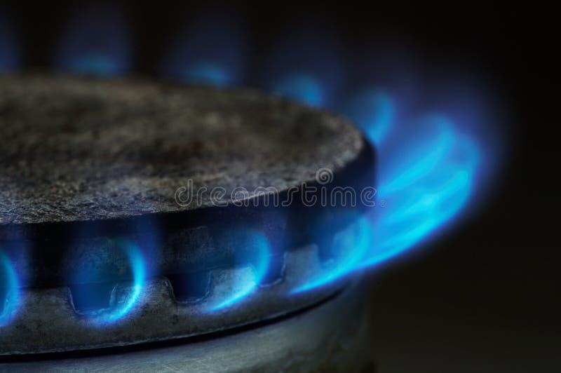 气体燃烧 免版税图库摄影