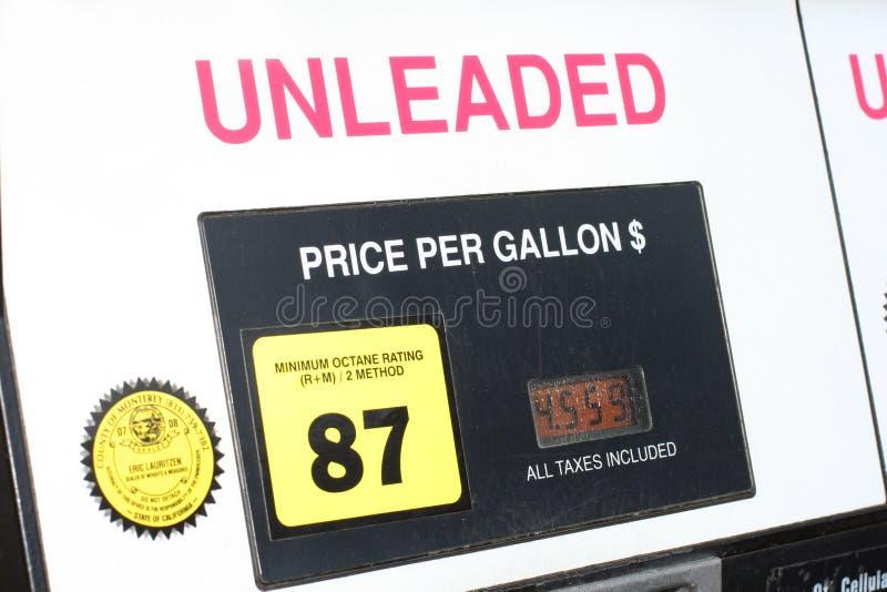 气体现代泵 免版税库存照片