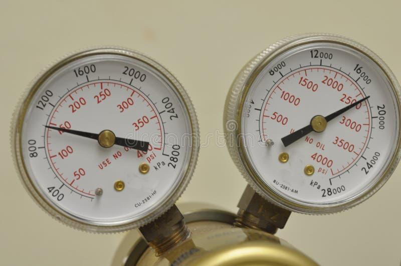 气体管理者 库存照片