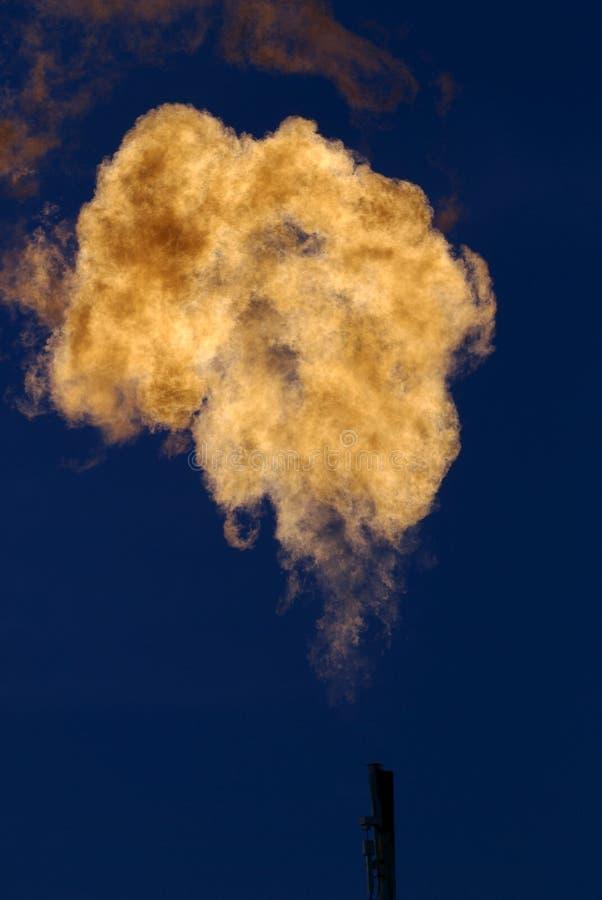 气体自然得克萨斯井 免版税库存照片