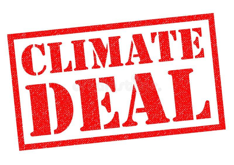 气候成交 向量例证