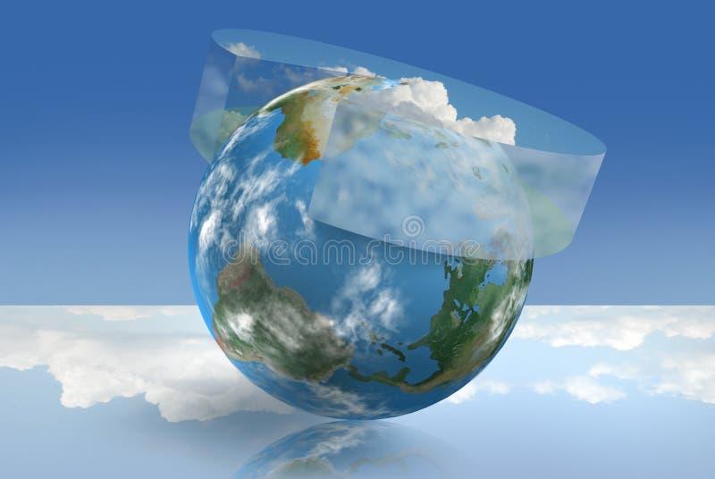 气候控制 皇族释放例证