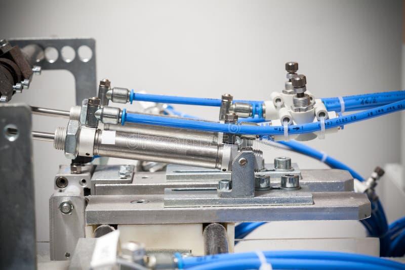 气动力学的机器细节 库存图片