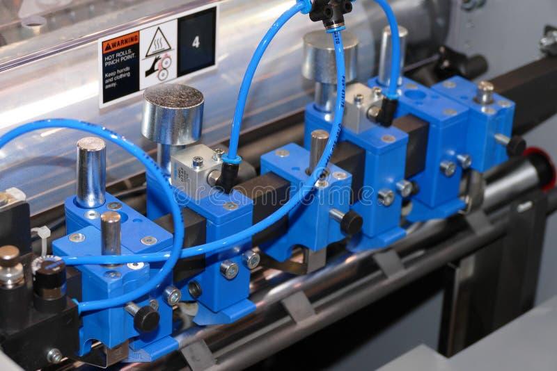 气动力学的钳位集合 免版税库存照片