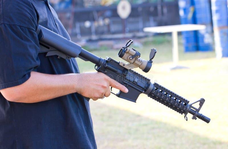 气枪。 免版税库存图片