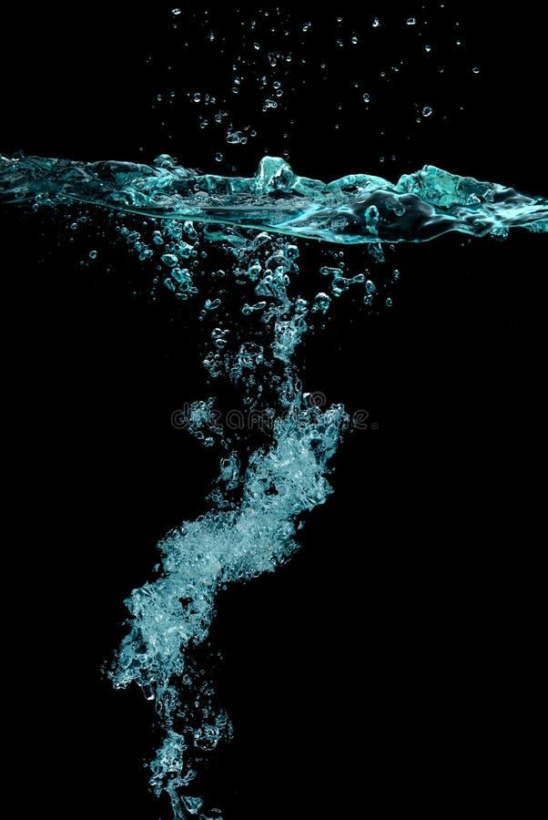 气泡在水中 图库摄影