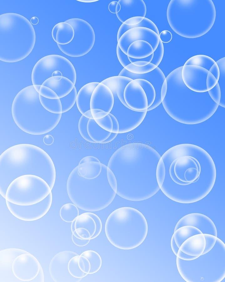 气泡 皇族释放例证