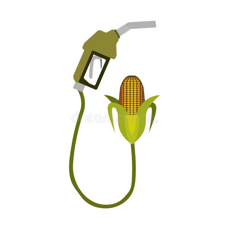 气泵喷管 库存例证