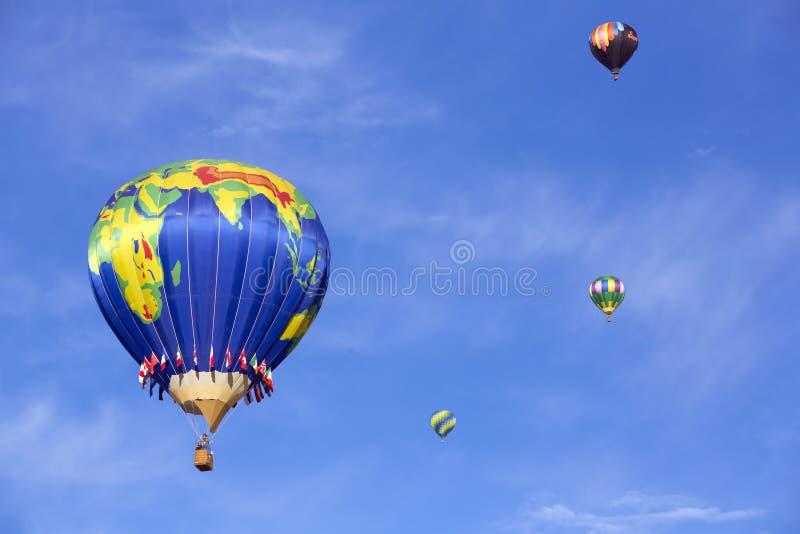 气球上升 库存图片