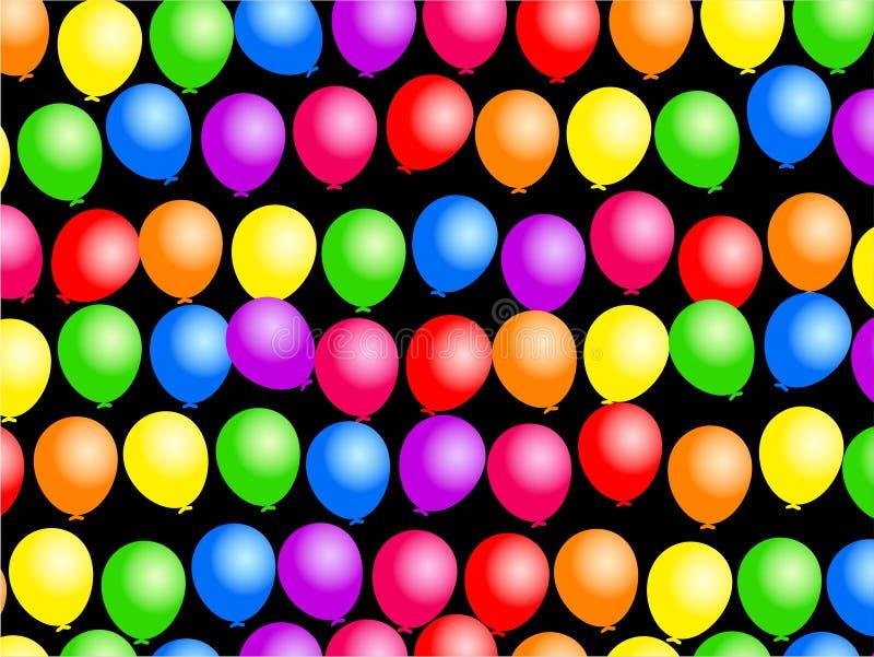 气球墙纸 皇族释放例证