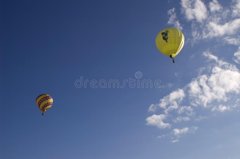 气球对 免版税库存照片