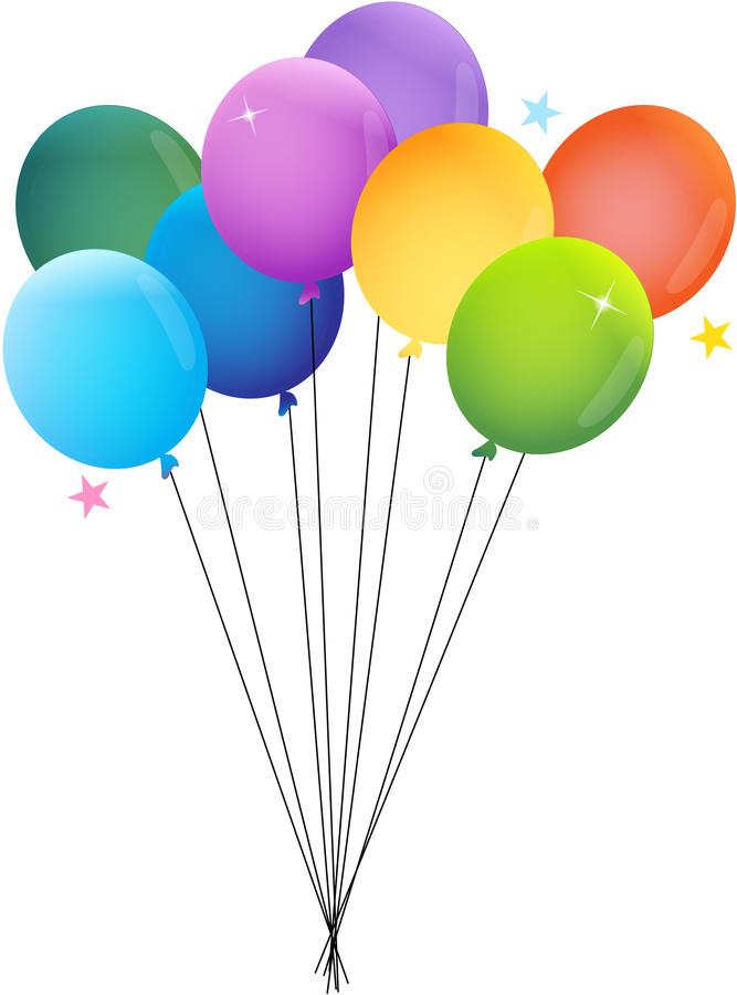 气球当事人 皇族释放例证