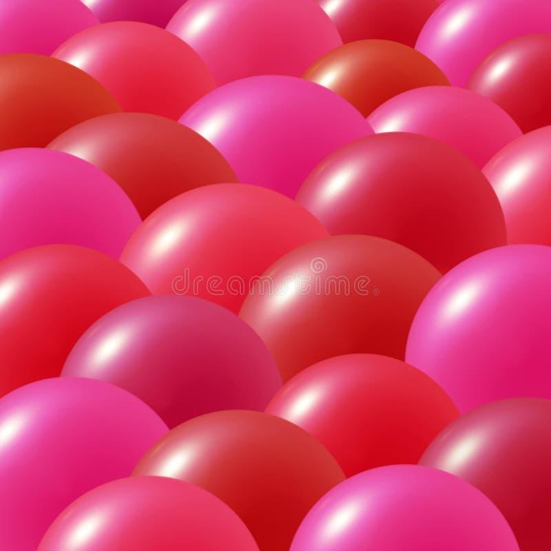 气球当事人 库存例证
