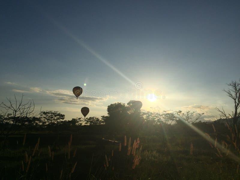 气球时间 图库摄影