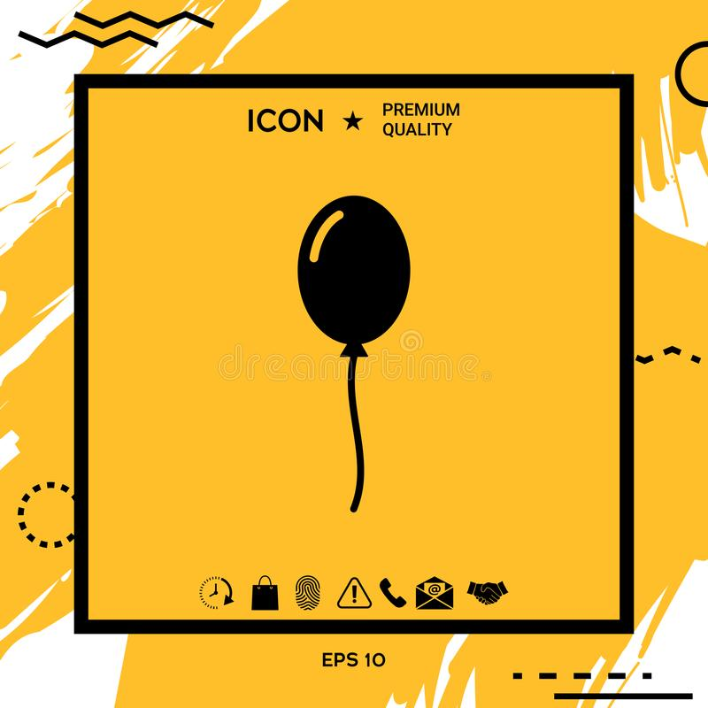 气球标志象 您设计的要素 抽象, 附注, 艺术, 背包, 演奏台, 生日图片