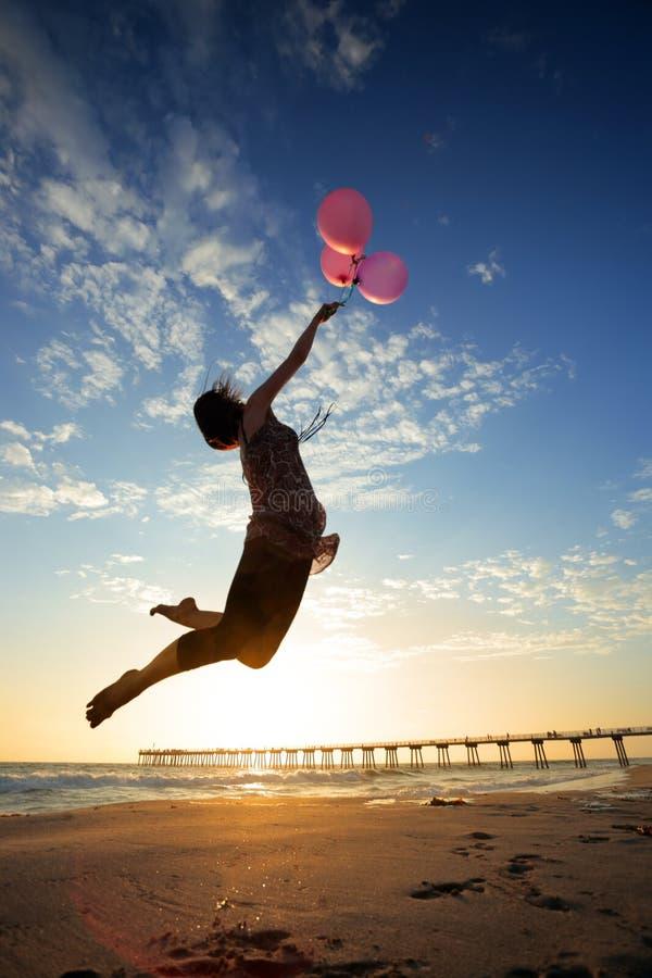 气球梦想 库存照片