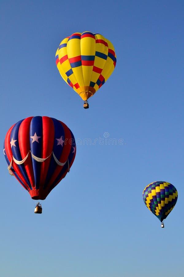 气球热三 免版税库存图片