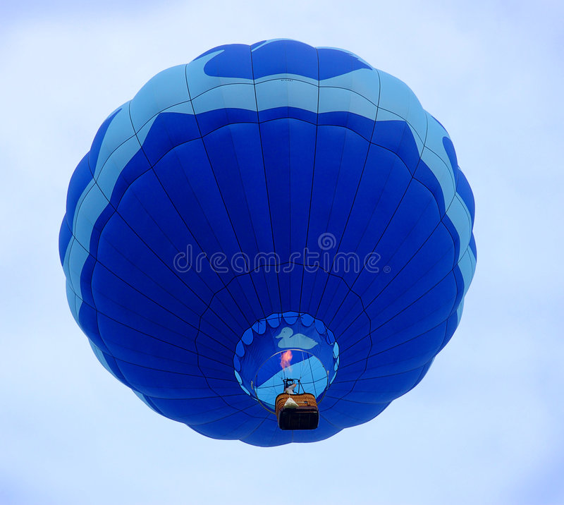 气球热上升 库存图片