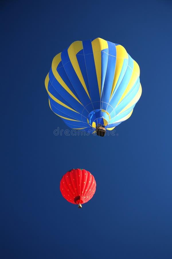 气球热乘驾 库存照片