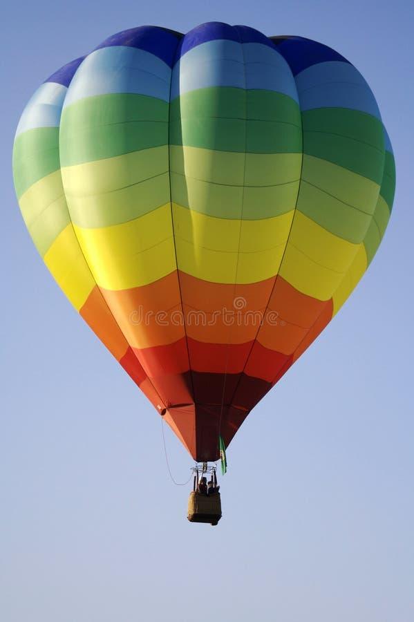 气球热彩虹数据条 库存图片