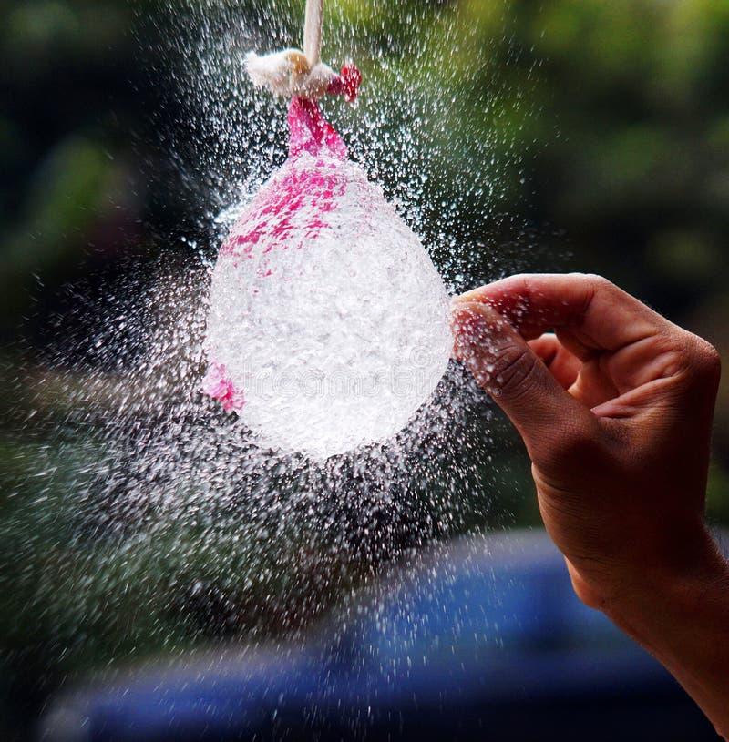 气球疾风 免版税库存照片