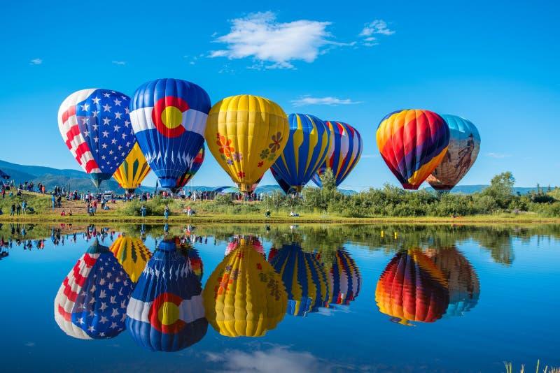 气球节日 免版税库存图片