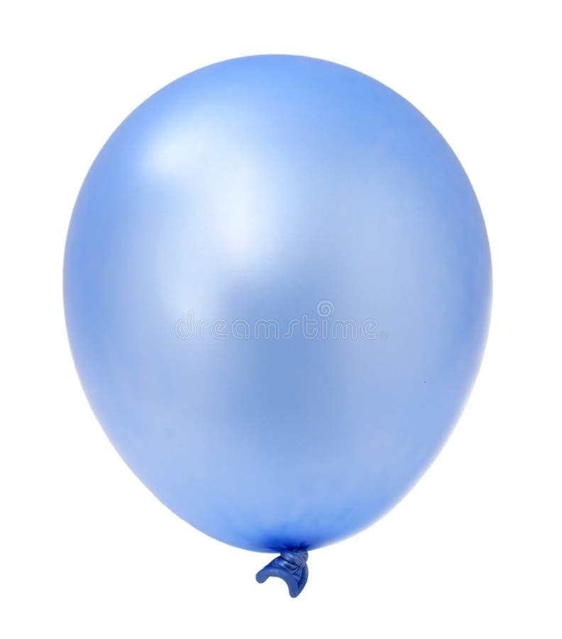背景气球蓝色查出一白色