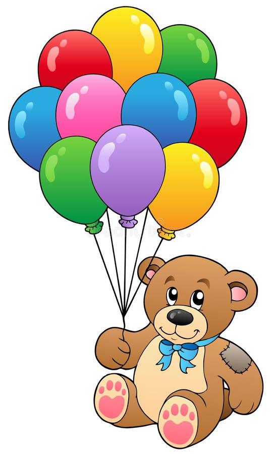 气球负担逗人喜爱的藏品女用连杉衬&# 库存例证