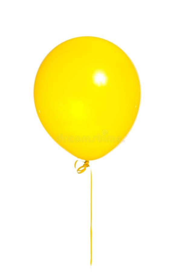 气球集会白色 库存照片