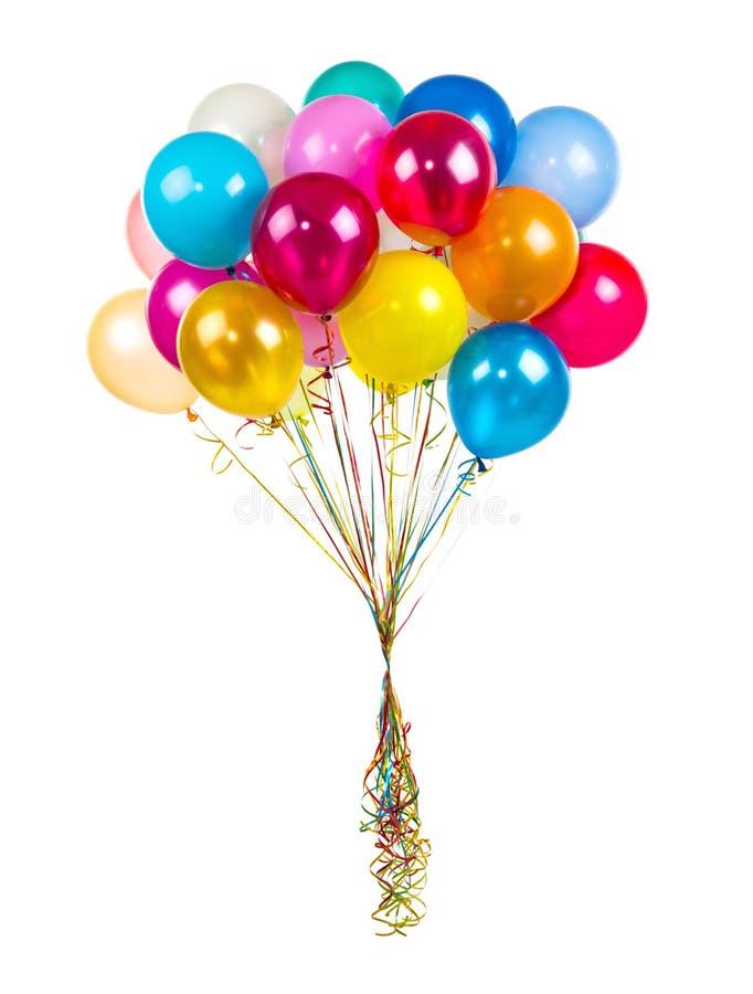气球颜色日节假日向量 免版税库存照片